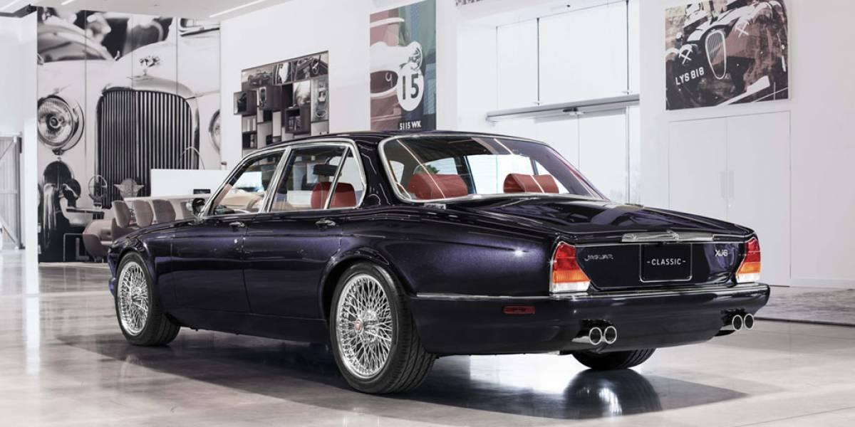 Jaguar XJ 'Grandes éxitos', edición especial para el batería de Iron Maiden