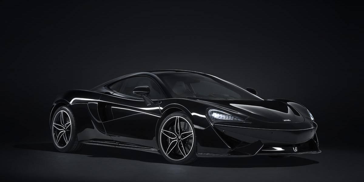 McLaren 570GT MSO 'Black Collection', la nueva montura del caballero oscuro