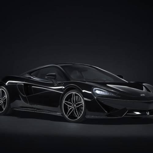 McLaren 570GT MSO 'Black Collection', la nueva montura del caballero oscuro
