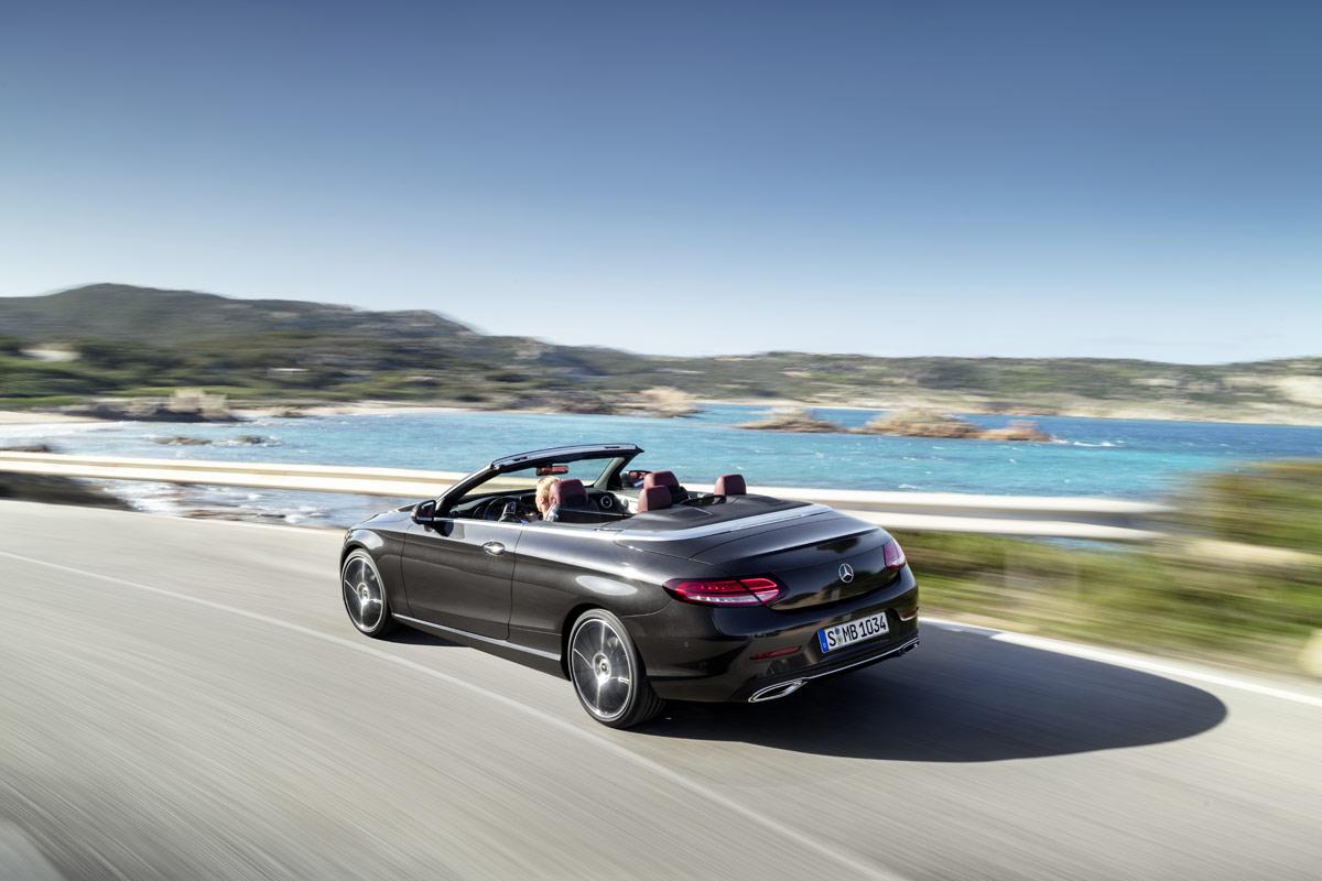 Mercedes-Benz Clase C Coupé y Cabrio 2018, más tecnología y eficiencia (fotos)