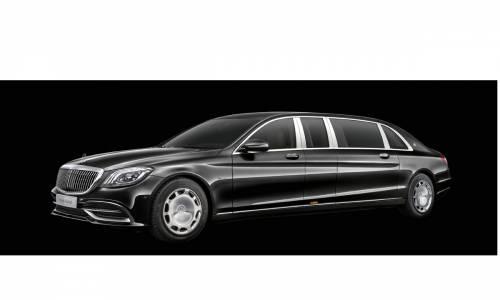 Mercedes-Maybach Pullman, todo lo que puedas imaginar