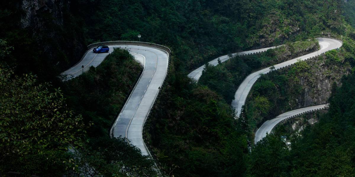Nuevo récord del Range Rover en Tianmen