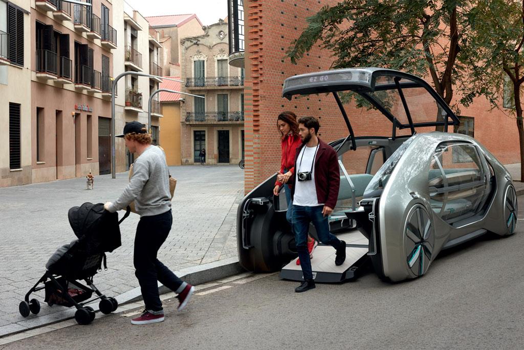 Renault EZ-GO, el coche como experiencia de movilidad