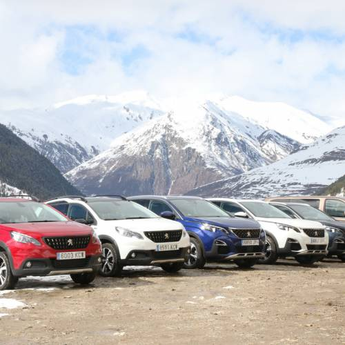 SUV de Peugeot: en asfalto como en nieve, hielo, arena o barro