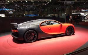 Salón de Ginebra 2018, Bugatti Chiron Sport