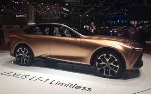 Salón de Ginebra 2018, Lexus LF-1 Limitless