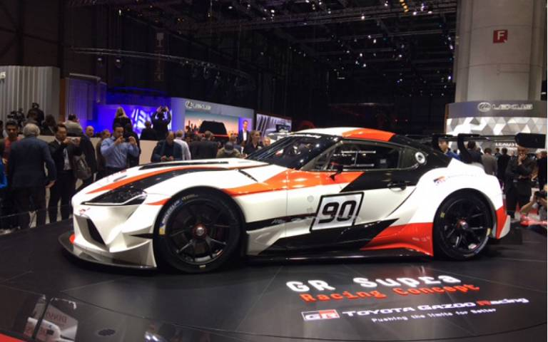 Salón de Ginebra 2018, Toyota GR Supra