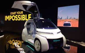 Salón de Ginebra 2018, Toyota i-Ride