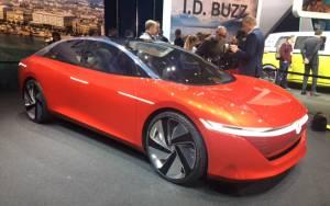 Salón de Ginebra 2018, Volkswagen ID Vizzion
