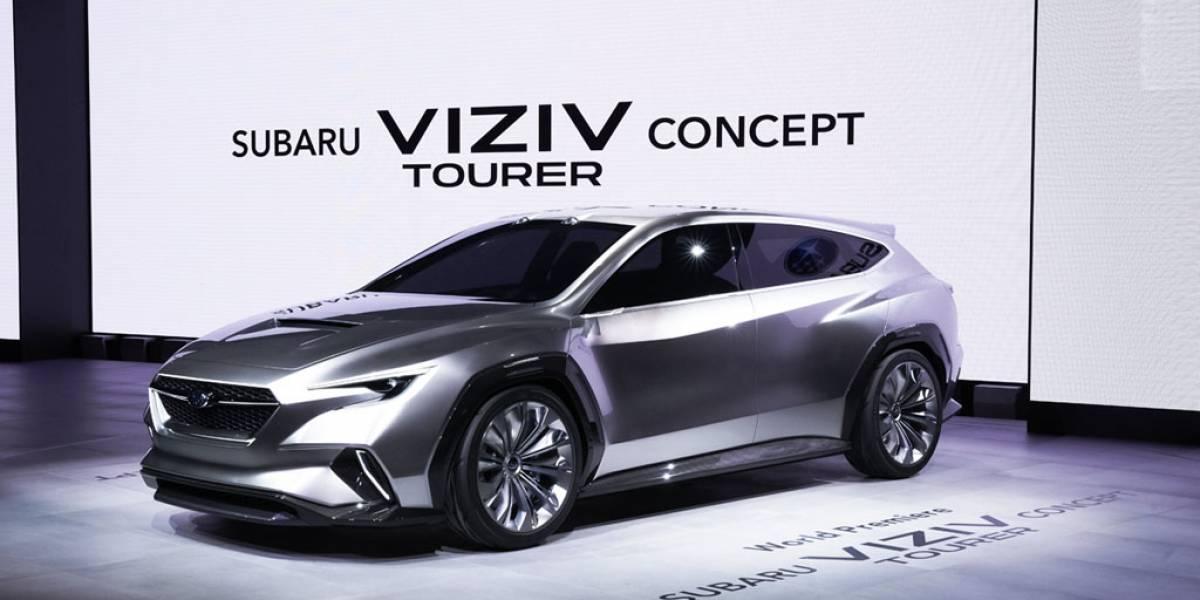 Subaru Viziv Tourer Concept, la línea a seguir en futuros familiares