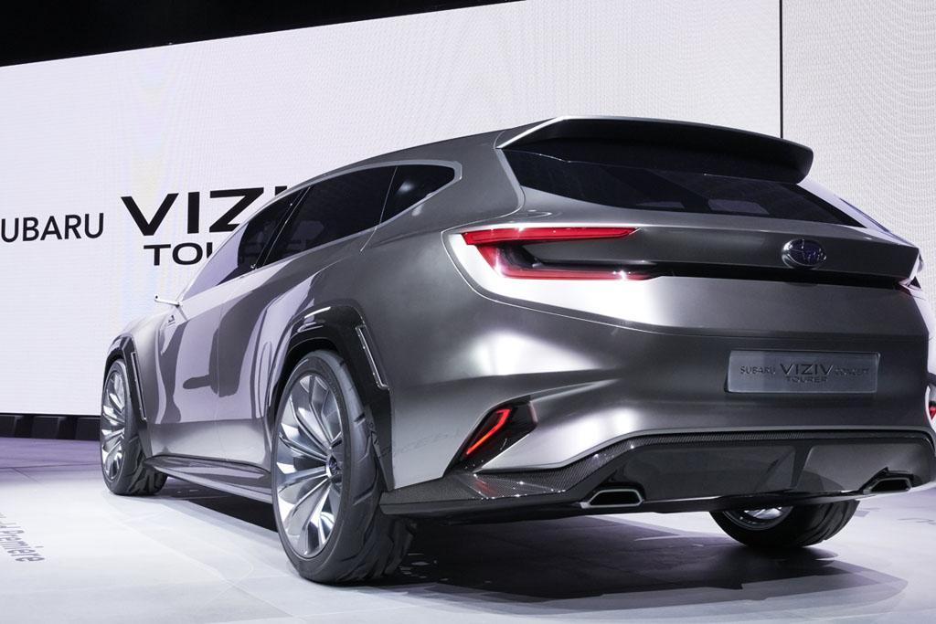 Subaru Viziv Tourer Concept, la línea a seguir para sus futuros familiares