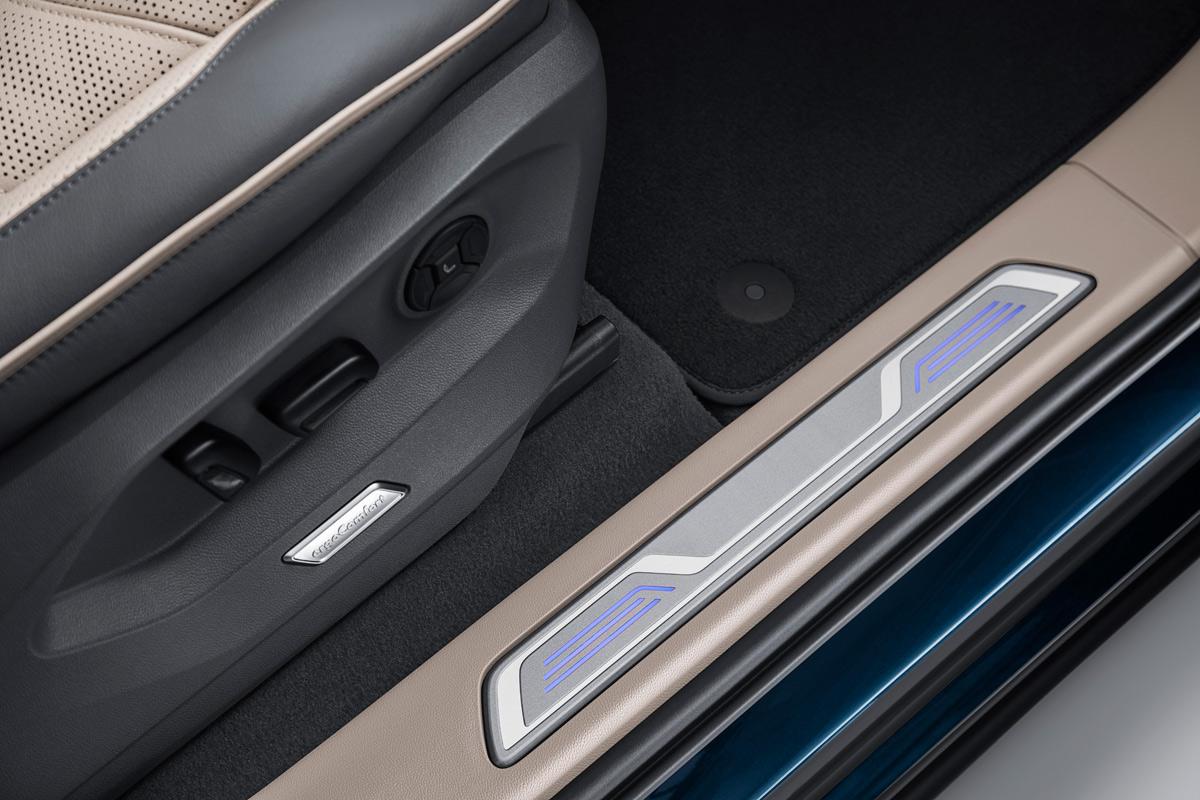 Volkswagen Touareg 2018, detalle estriberas