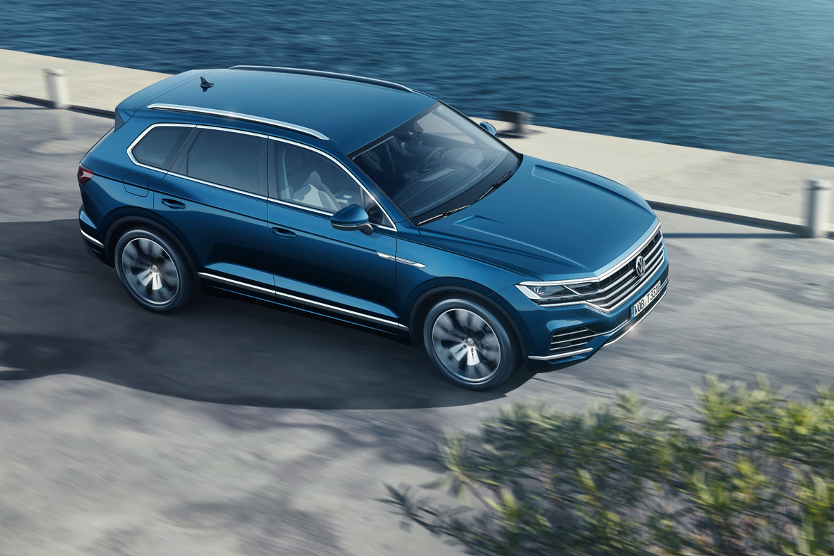 Volkswagen Touareg 2018 (fotos)