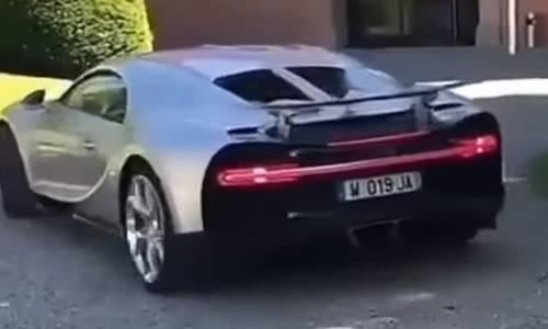 Conoce el nuevo Bugatti Chiron de Cristiano Ronaldo
