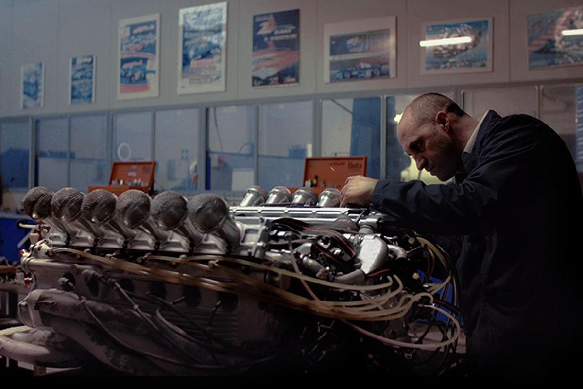 Fotograma del documental Ferrari 312B