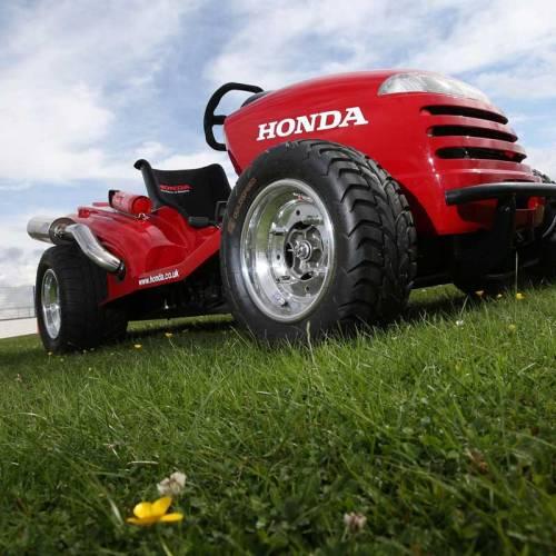 Descubre el Honda Mean Mower, el cortacésped que superará los 215 km/h