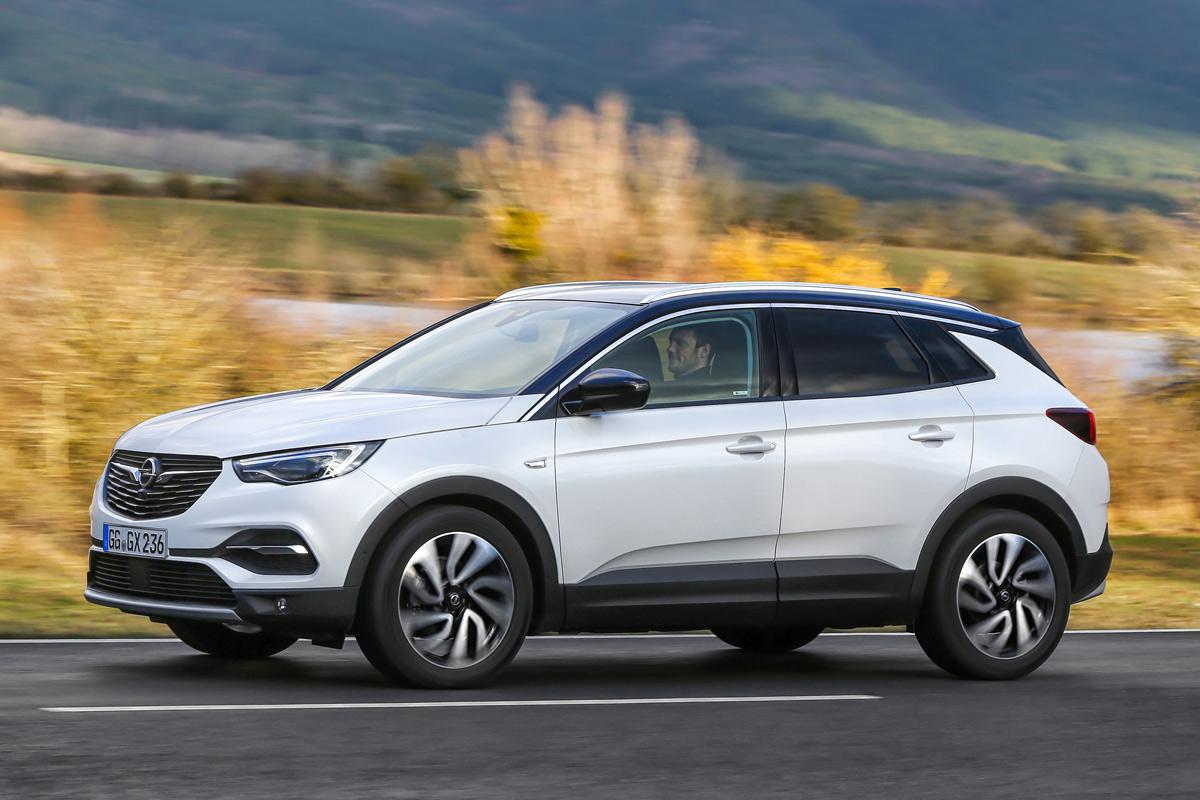 Prueba Opel Grandland X Ultimate, lateral 2