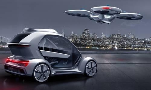 Pop.Up Next, el dron para llevar personas