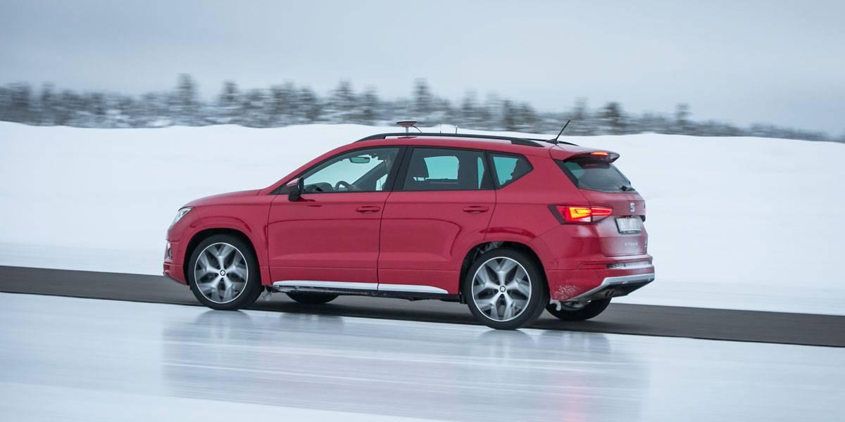 Pruebas extremas de SEAT: así son sus test en la nieve