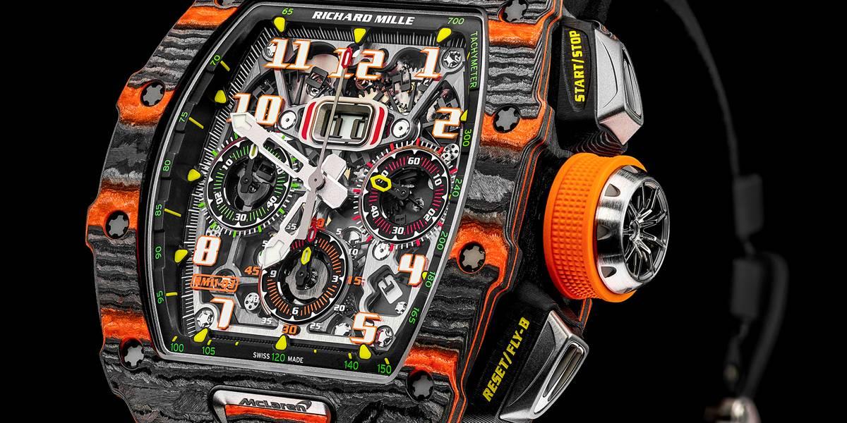RM 11-03: El  nuevo reloj de McLaren