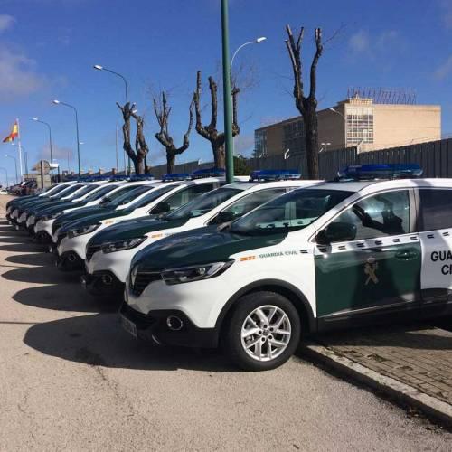 Estos son los nuevos coches de la Guardia Civil