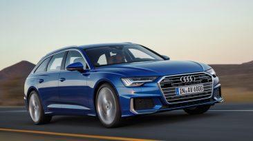 Audi A6 Avant 2018, dinámica