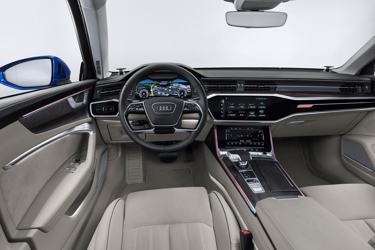Audi A6 Avant 2018, interior