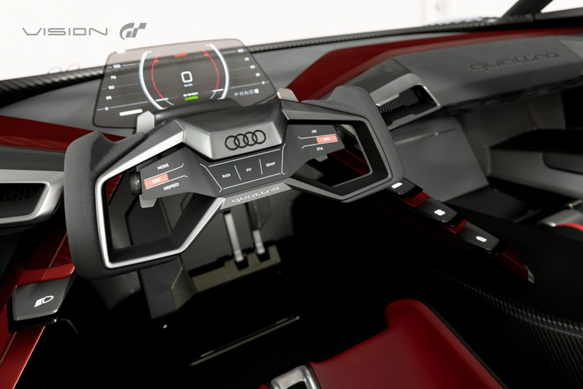 Audi e-tron Vision Concept