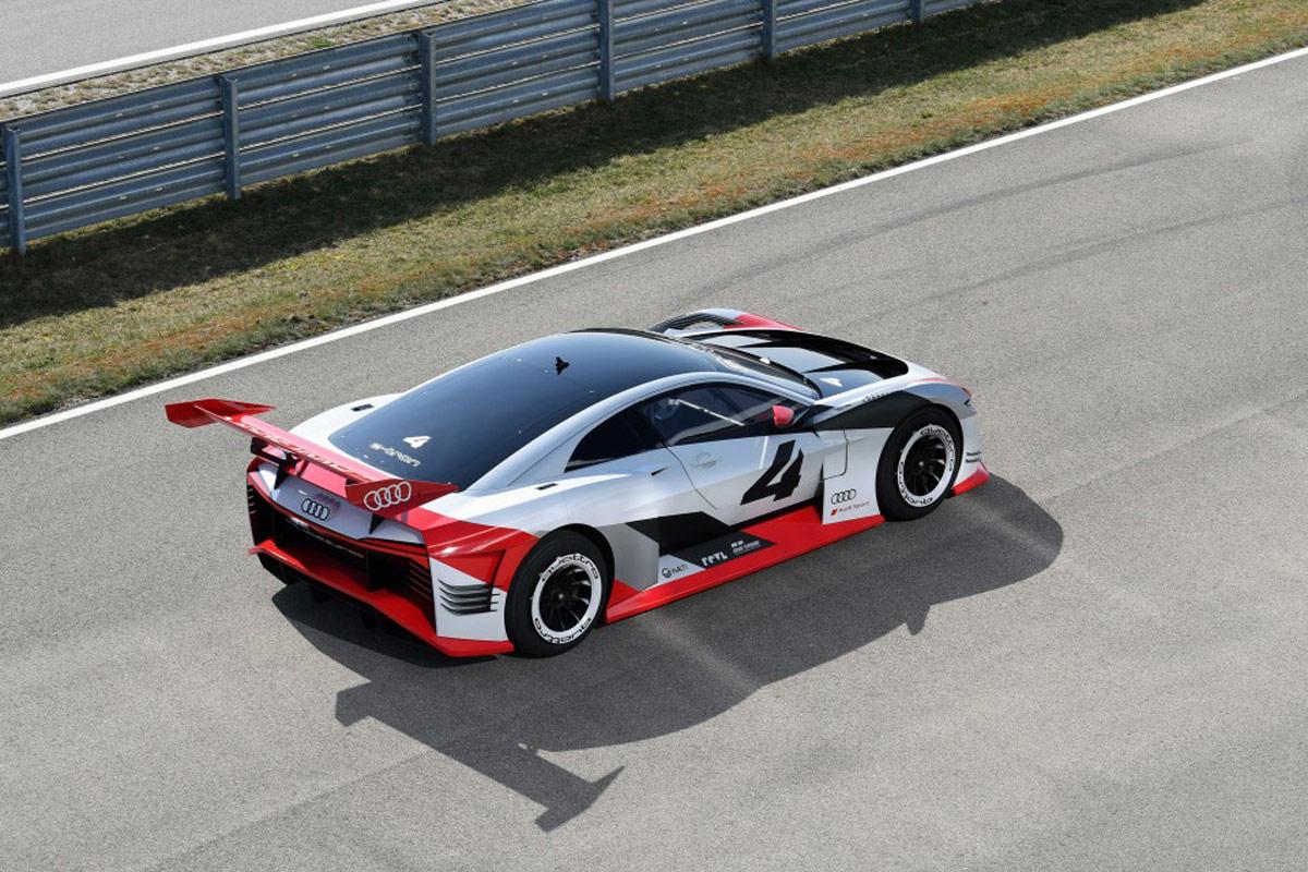 Del videojuego a la realidad: el Audi e-tron Vision Concept (fotos)