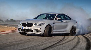 BMW M2 Competition 2018, dinámica