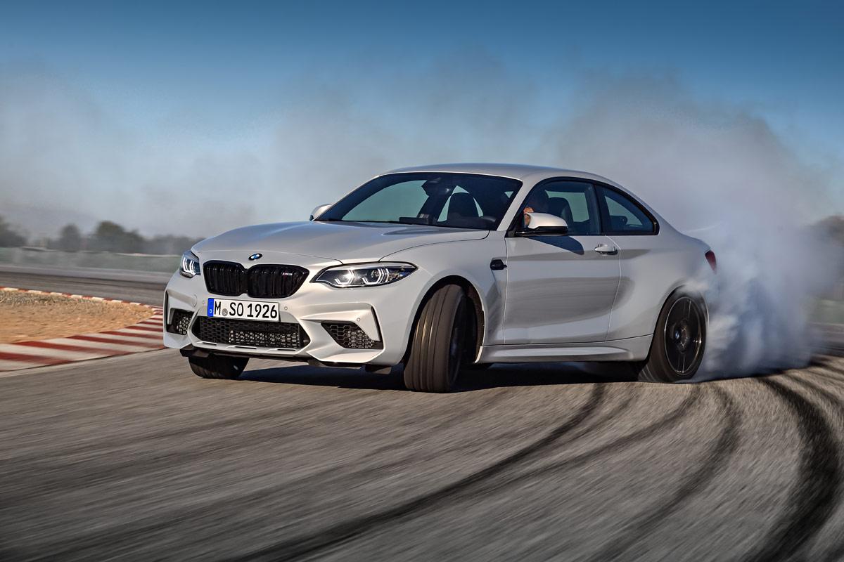 BMW M2 Competition 2018, pequeño terremoto