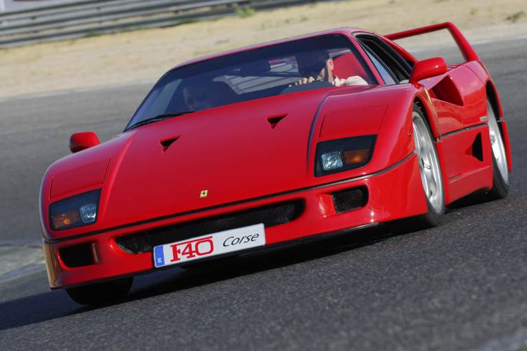 Ferrari F40 - Producción