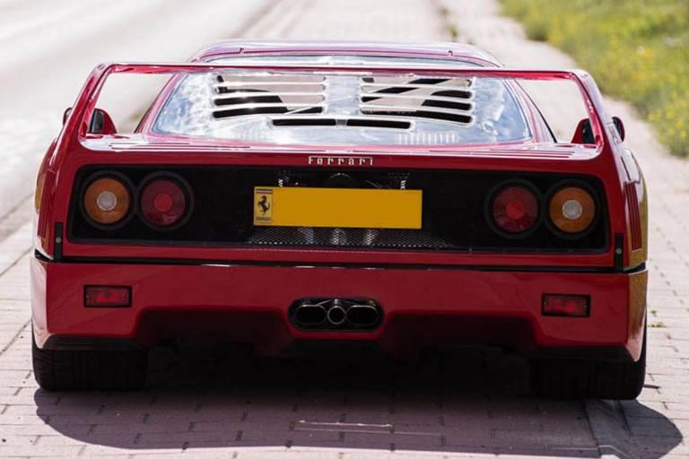 Ferrari F40 - El Ferrari F40 de Mansell
