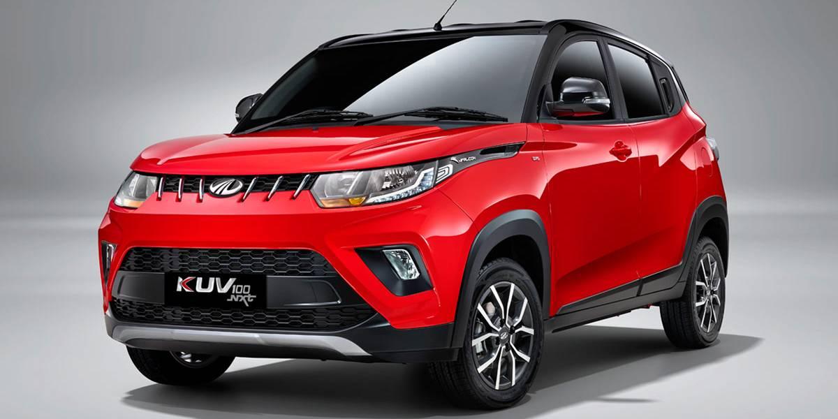 Mahindra KUV100 2018, desde India, directo a tu ciudad