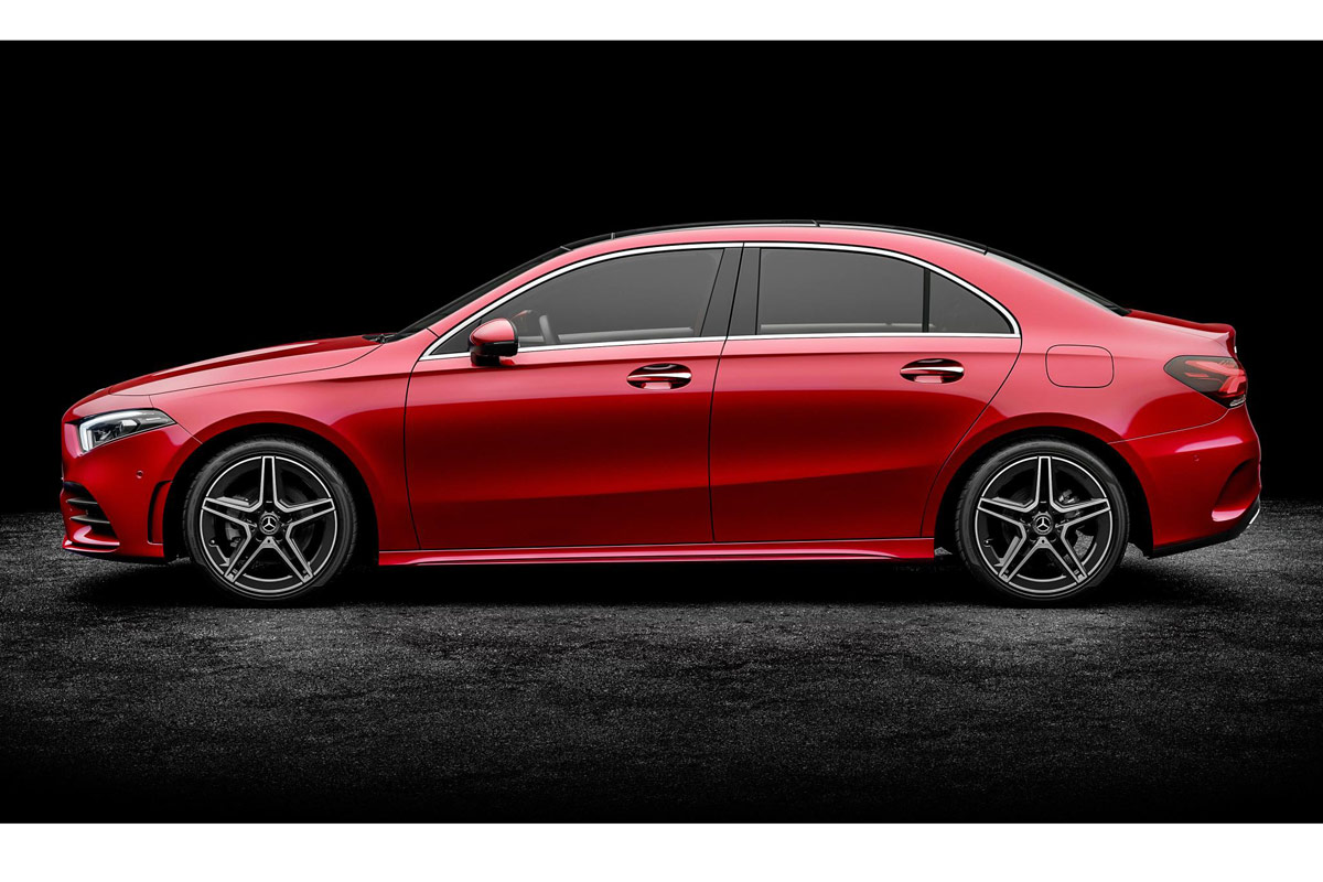 Mercedes-Benz Clase A sedan 2018