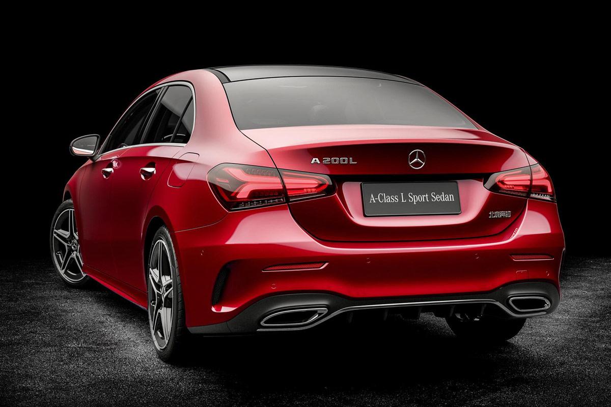 Mercedes-Benz Clase A sedán 2018, así es la berlina que no llegará a Europa (fotos)