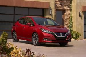 8. Nissan Leaf