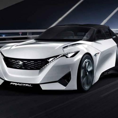 Peugeot 208 2019, la próxima generación se podría inspirar en el Peugeot Fractal concept