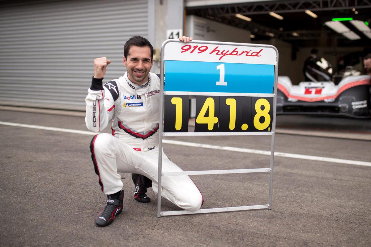 Porsche 919 Hybrid récord