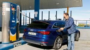 Prueba del Audi A4 Avant g-tron: ¿el coche del futuro? (fotos)