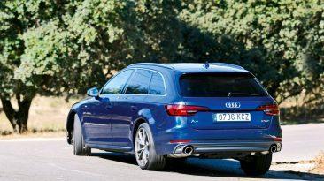 Prueba Audi A4 Avant g-tron, tres cuartos trasero