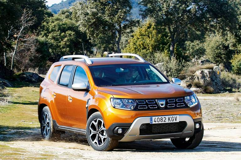 Prueba Dacia Duster 2018, off-road