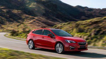 Prueba Subaru Impreza 2018, lateral dinámica