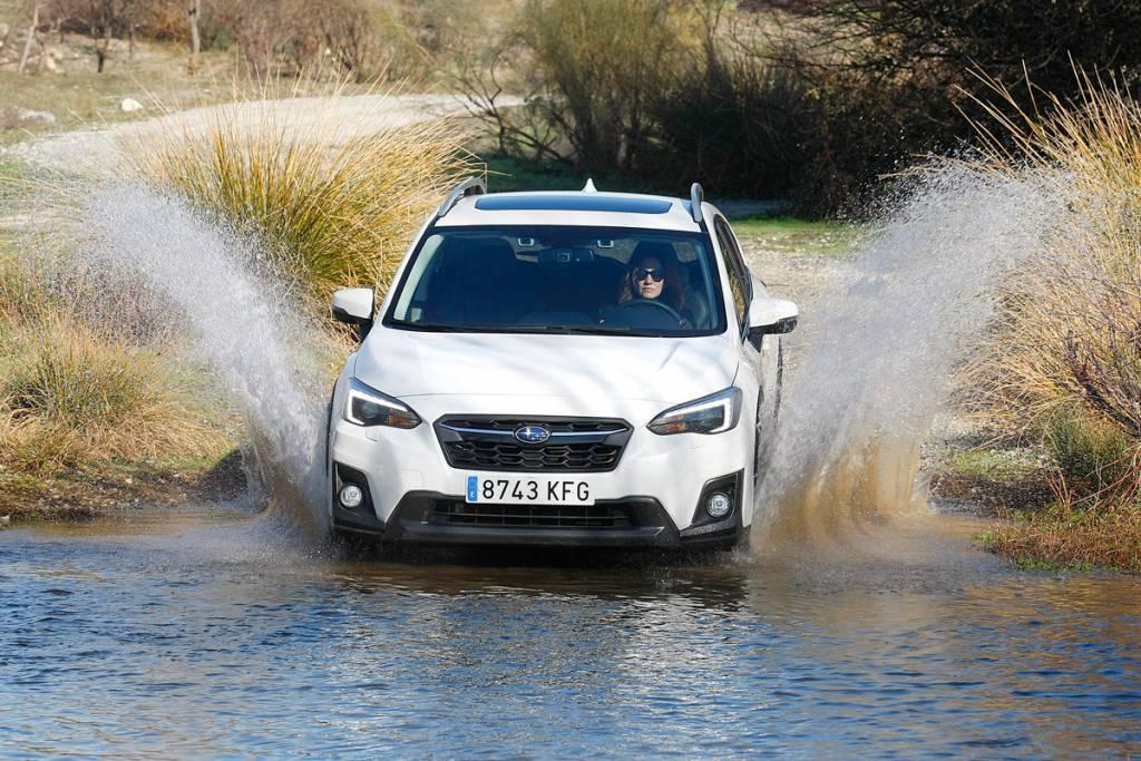 Prueba Subaru VX 2018, off-road