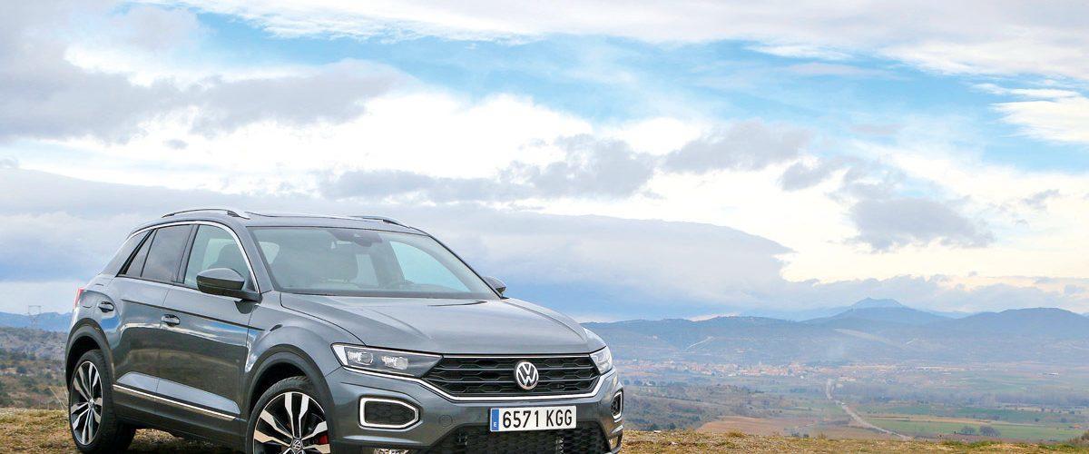 Prueba Volkswagen T-Roc 2018, tres cuartos delantero