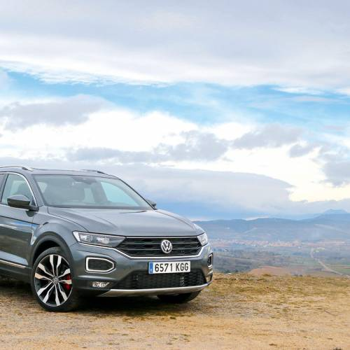 Prueba del Volkswagen T-Roc 2018: jaque mate, Golf