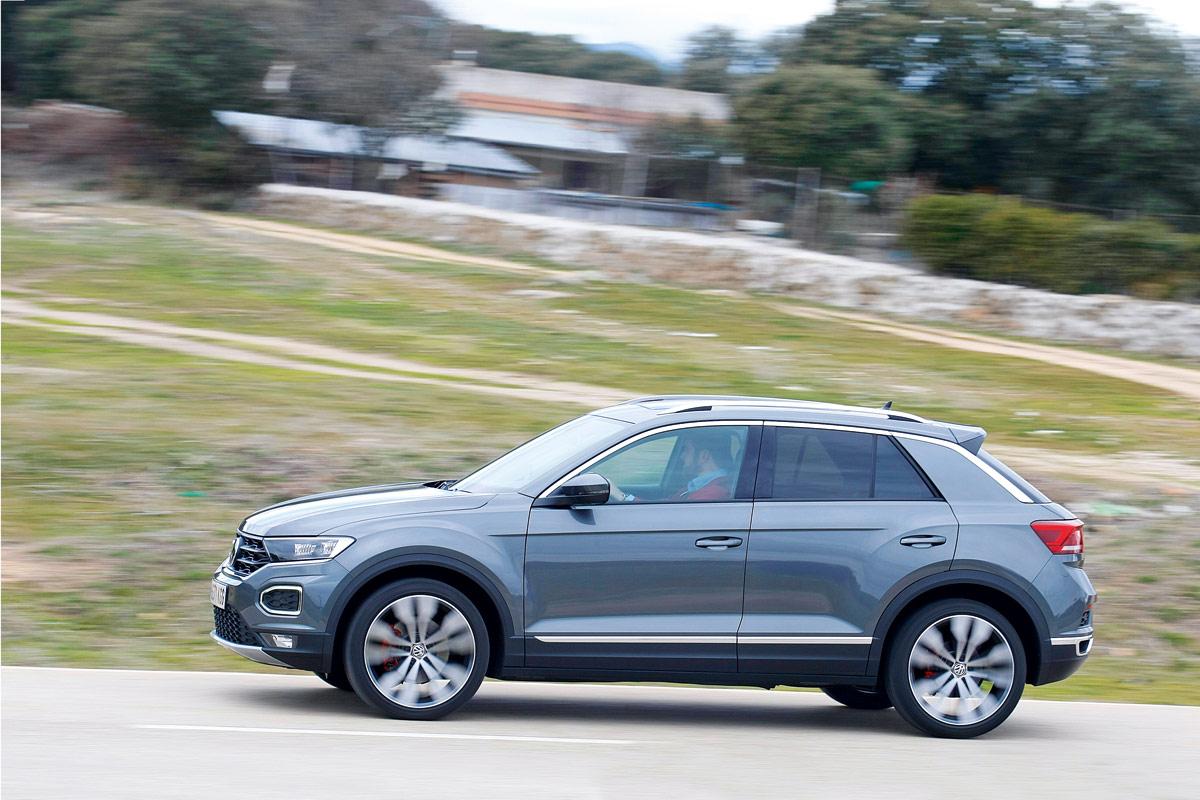 Prueba del Volkswagen T-Roc 2018 (fotos)