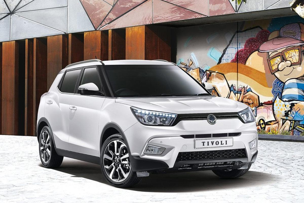 SUV baratos por menos de 15.000 euros: SsangYong Tivoli
