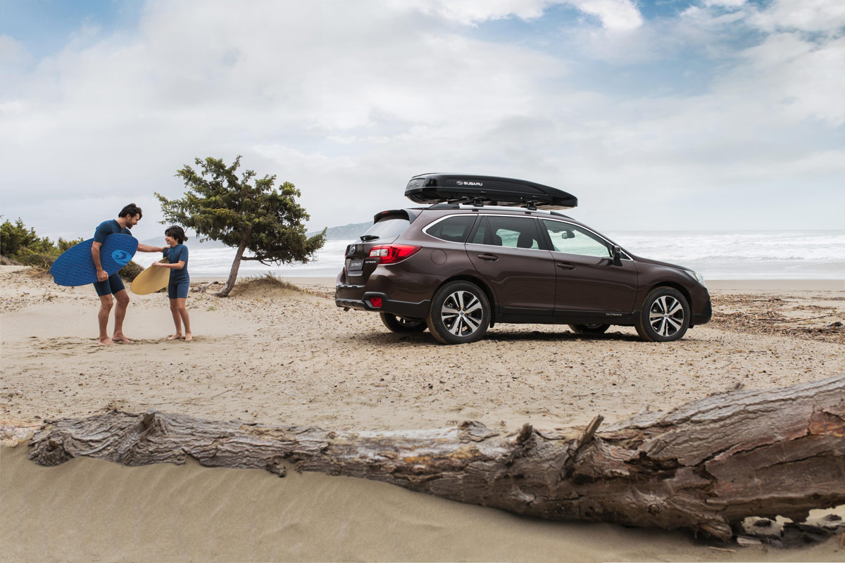 Subaru Outback Executive Plus S, sube el nivel (fotos)