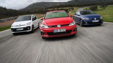 Prueba Volkswagen GTI, frontal